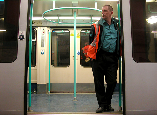 Docklands Light Railways supervisor
