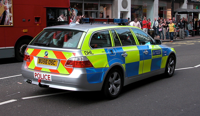London Police 2007 BMW 530D Touring