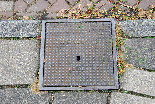 More drain covers: Grofsmederij Leiden