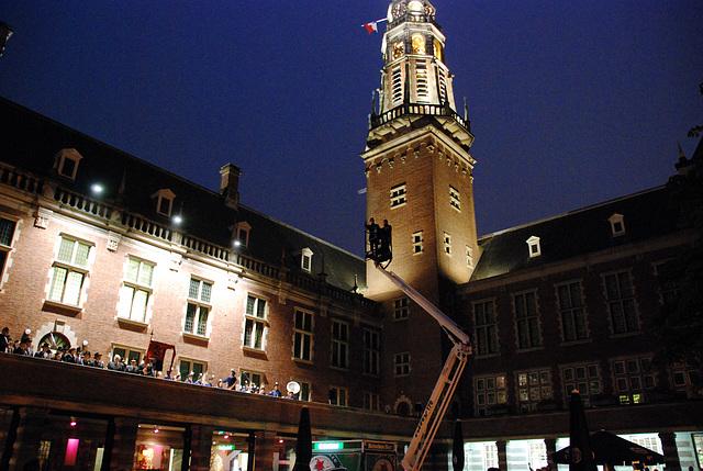 The start of the Leiden's Relief Celebration: Reveille