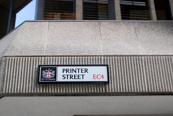 Printer Street