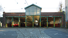 Tram shed