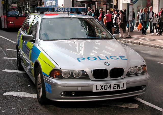 London police 2004 BMW 530D Touring