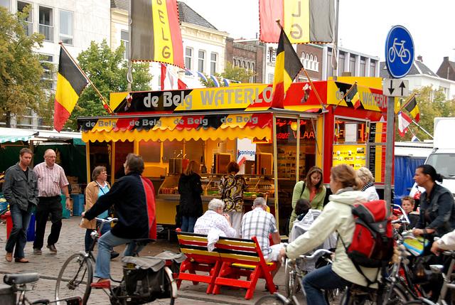 Market in Groningen