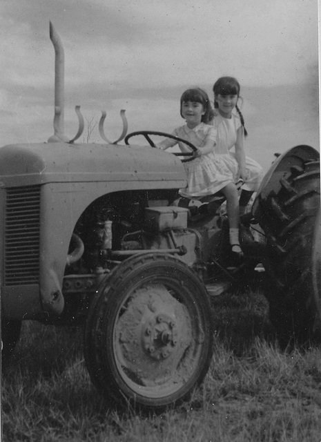 1968 - on Uncle Bernie's farm