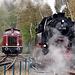 65 018 switching tracks at Bochum-Dahlhausen