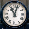 Station clock at York station
