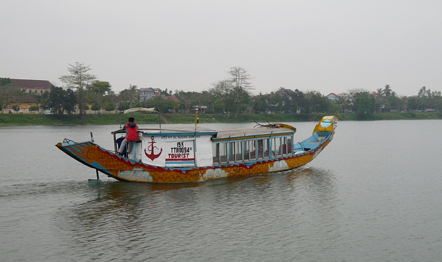 Dragon Boat on the Perfume River