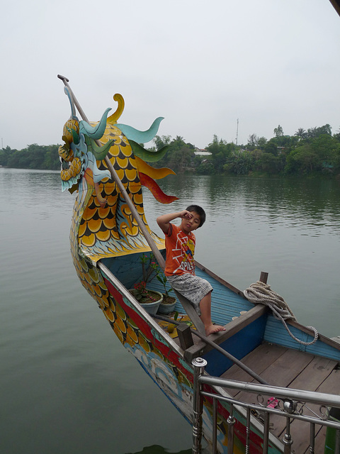 Boat Boy on the Perfume River