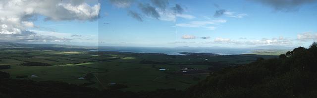 Mt Nicoll - view of Corner Inlet