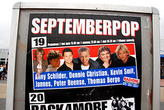 Harlingen: ad for Septemberpop