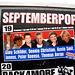 Harlingen: ad for Septemberpop