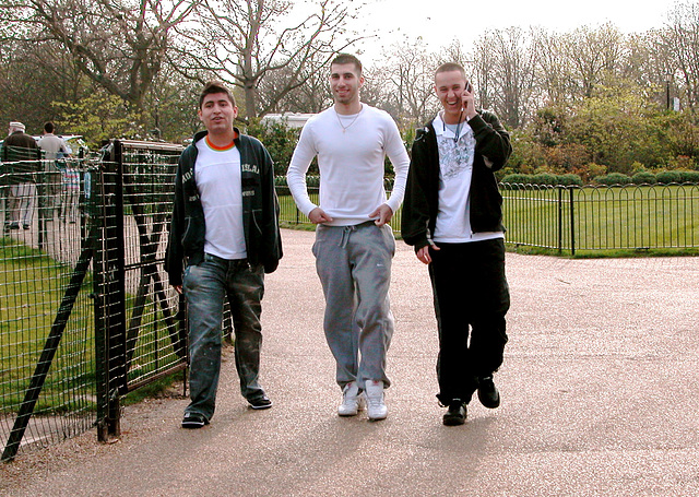 Happy London lads