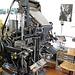 Het Grafisch Museum (the printing museum) in Groningen: Intertype typesetting machine
