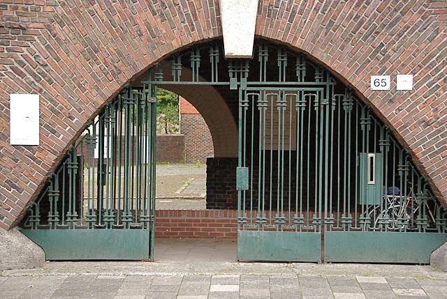 Het Grafisch Museum (the printing museum) in Groningen: Entrance