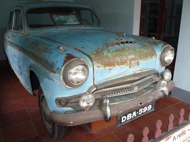 Martyr's Car Displayed behind the Dai Hung Shrine at the Thien Mu Pagoda, near Hue