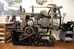 Het Grafisch Museum (the printing museum) in Groningen