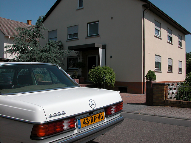 My Benz for its original house