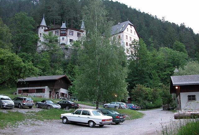 Holiday day one: hotel Schloss Fernstein