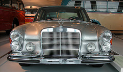 In the Mercedes Museum: Mercedes-Benz 300 SEL 6.3