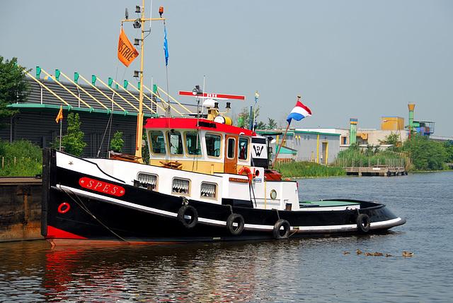 Industrie motorendag 2008: Tugboat Spes