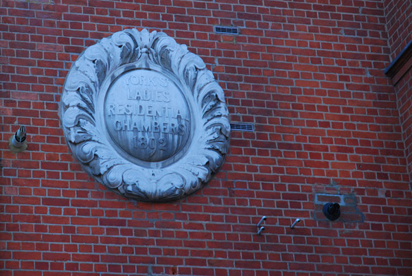 York St Ladies Residential Chambers 1892