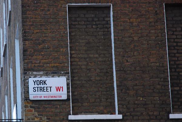 York Street W1
