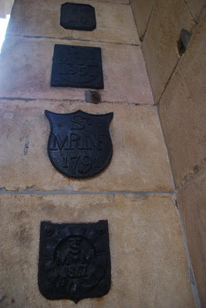 Parish boundary markers