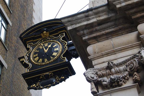 Clock, St Magnus the Martyr