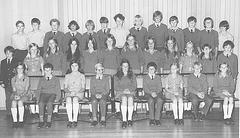 1973 Sandy's form 1 class photo - formal version