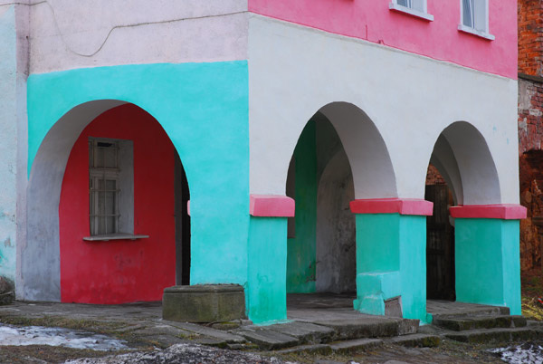 Coloured arches