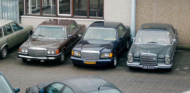 Some Mercedes-Benzes S-class