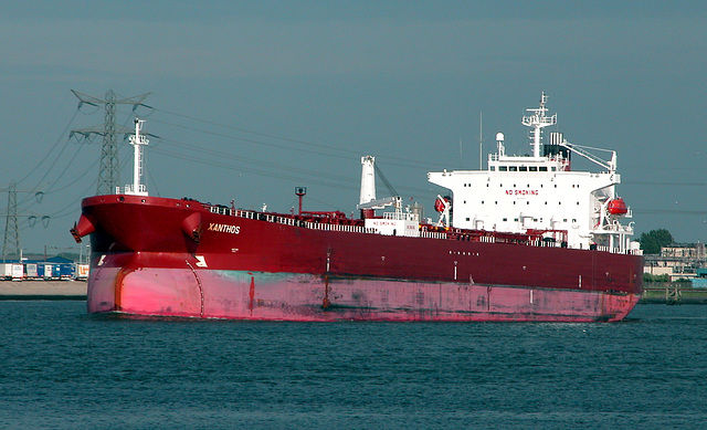 The tanker Xanthos
