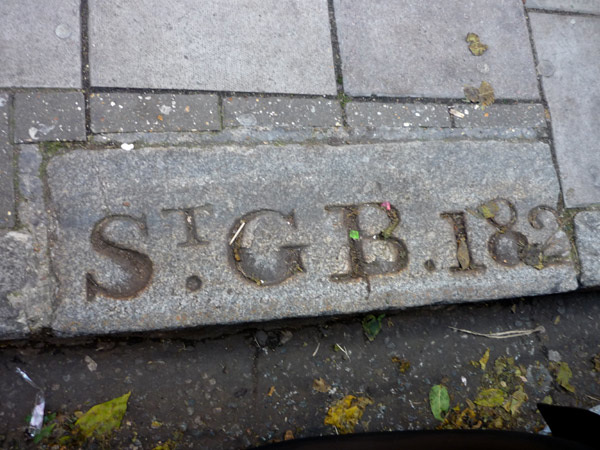 St George Bloomsbury parish boundary marker