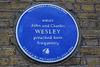 John and Charles Wesley preached here frequently