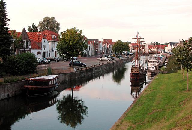 The harbour of Den Briel