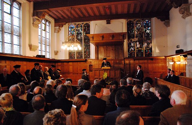 Promotion to PhD at Leiden University