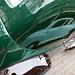 Oldtimer day in Emmen (Drenthe, the Netherlands): Mercedes reflected in a Citroën