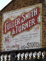 Fuller Smith & Turner Ghostsign