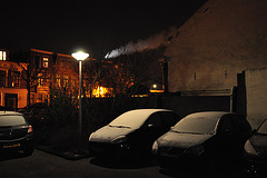 Frosty cars