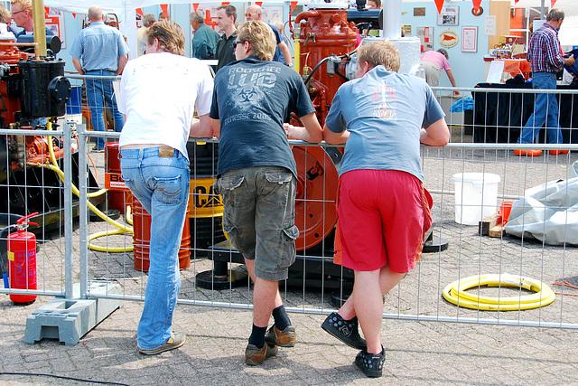 Industrie motorendag 2008: looking
