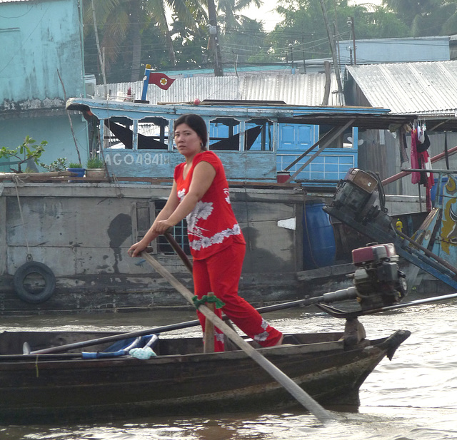 Rower in Red