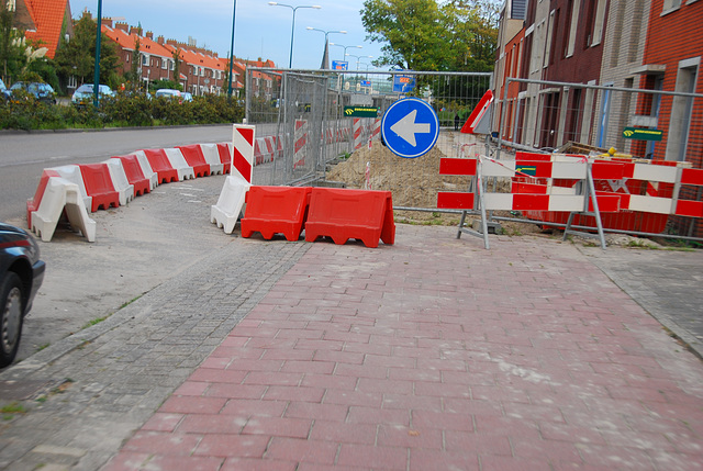My bike ride home: obstacle