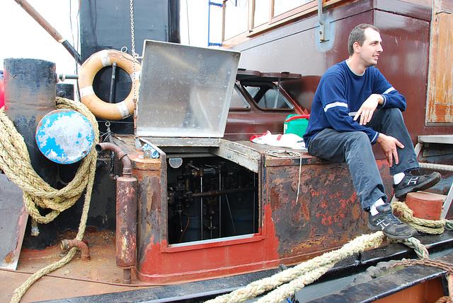 Industrie motorendag 2008: Dieu-Donné and owner