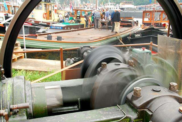 Industrie motorendag 2008: Ruston & Hornsby class MR, size 6 engine