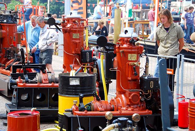Industrie motorendag 2008: stationary engines