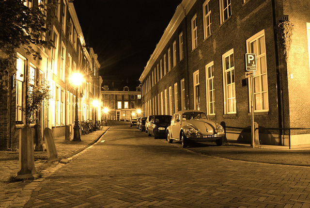 Night shots of Leiden