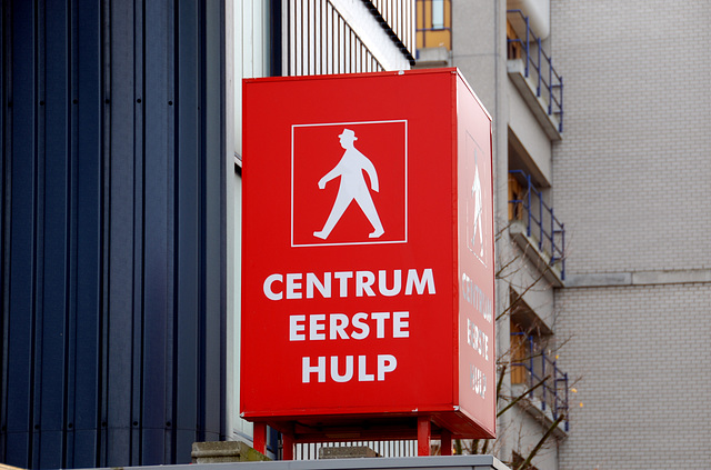 First Aid Centre for Men with Hats