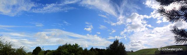 Sunday morning summer skies #2 - finally! 6064563659 o