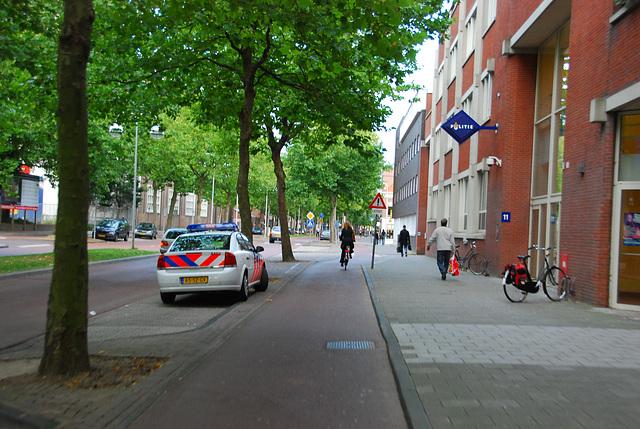 My bike ride home: the police headquarters